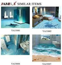 bathroom interior with modern and contemporary design 3d tiles
