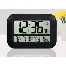 Cool Digital Clocks Large Digital Wall Clocks Battery Operated Decoration Ideas