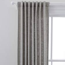 greylock grey indoor outdoor curtain panel pine cone hill
