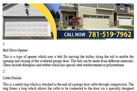 Keystone Overhead Door Manuals Garage Door Repair Revere Ma