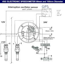 vdo wiring diagram rudder angle indicator wiring diagram on