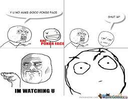 Poker Face Memes - bad poker face meme funnymeme memes pinterest poker face