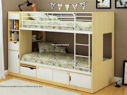 Space Bunk Beds Modern Bunk Bed With Storage Space