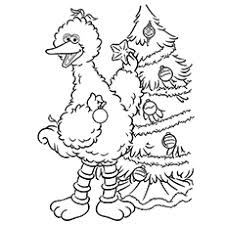 25 free printable big bird coloring pages