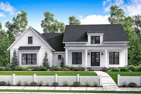 Farmhouse Architectural Plans Budget Friendly Modern Farmhouse Plan With Bonus Room 51762hz