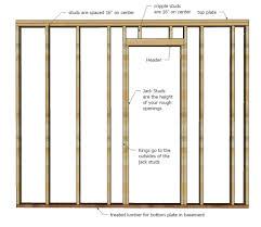 standard garage door opening brilliant garage door framing how to frame a inside design ideas