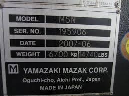 mazak m 5n 24