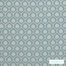 Duck Egg Blue Damask Curtains Washable Fabric Warwick Winslow Aylesbury Duck Egg
