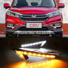 2016 honda crv fog lights 2x super bright led daytime running fog lights drl with turn signals