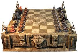Cool Chess Set Alien Vs Predator Chess Set Gaming