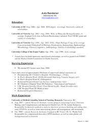 Example Nurse Resume by Sample Resume Registered Nurse Med Surg