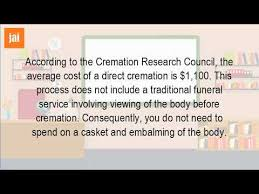 cost for cremation how much does it cost to be cremated