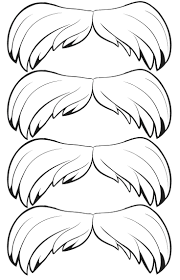 Kitty Mustache Coloring Pages Eliolera
