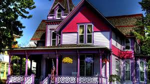 houses unusual purple house cute houses architecture wide