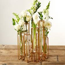 s 10 hinged flower vases