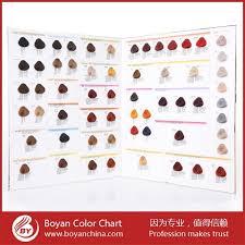 italian brand hair coloring salon hair color chart for dye hair