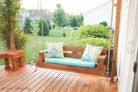 11 free porch swing plans to build at home