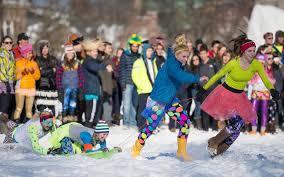 best winter festivals in the u s travel leisure