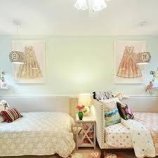 Kids Roman Shades - green striped kids room roman shade design ideas