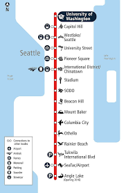 light rail map seattle uw capitol hill light rail stations open on saturday curbed