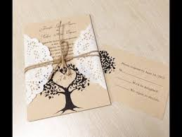 diy wedding invites unique diy wedding invitation ideas