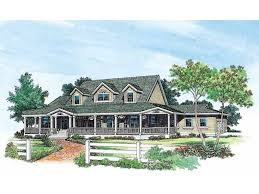 farmhouse plans with wrap around porches wraparound porch hwbdo00981 farmhouse home plans from