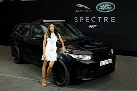 land rover truck james bond jaguar land rover unveils spectre movie cars in frankfurt
