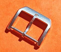 stainless steel buckle bracelet images Iwc schaffhausen genuine 22 18mm stainless steel watch tang buckle jpg