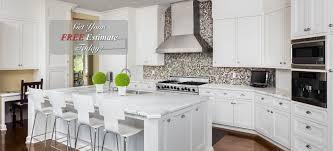 First Home Renovation White Quartz by Granite Countertops Orlando Quartz Countertops Orlando Experts In