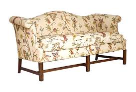 vintage camel back sofa chippendale style camel back sofa janney s collection brilliant