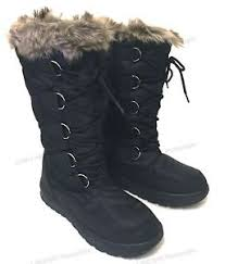s boots with fur s winter boots fur warm insulated waterproof zipper ski