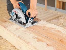 What Saw For Laminate Flooring Bosch Gks65 Professional 190mm Circular Saw 240v 1600w