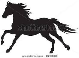 25 horse silhouette ideas horse stencil