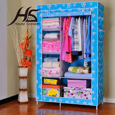 Bedroom Lockers For Sale by House Scenery Wardrobe Furniture Bedroom Nonwoven Wardrobes Simple