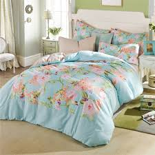 Flower Bed Sets Flower Garden Theme Bedroom With Cheap Floral Printed Xl