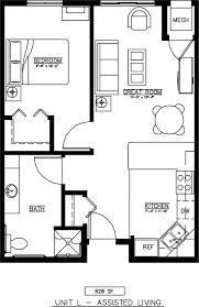 Unit Floor Plans Units Plans And Photos Senior Housing Floor Plans Augustana