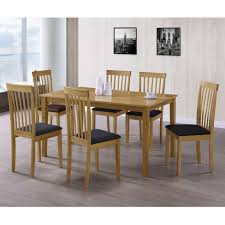 6 seater oak dining table new haven large 6 seater dining table in light oak 90cm x 150cm