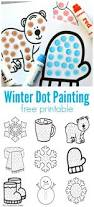 winter dot painting free printable do a dot dot painting and