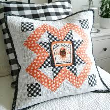 halloween pillows happy little cottage holiday wishes blog tour
