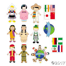 jumbo around the world cutouts bulletin board diversity and