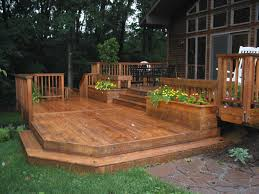 Backyard Planter Box Ideas by The Complete Guide About Multi Level Decks With 27 Design Ideas