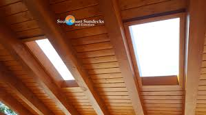 Tongue And Groove Roof Sheathing by Everything Patio U0026 Sundeck Canopies Covers Glass Wood Aluminum