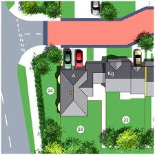 house site plan site plan illustrators aerial view illustration architectural