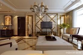 design of atmospheric living room tv background wall sallon