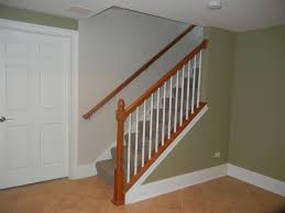 fancy idea finishing basement stairs modern ideas finishing