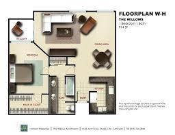What Is Wh In Floor Plan | studio city floorplan w h managed properties photos in studio