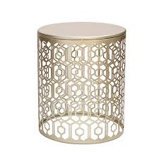 amazon com joveco metal iron strip structure stool end table side