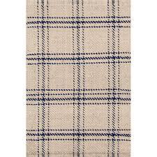 diamond navy white indoor outdoor rug dash u0026 albert