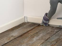 innovative installing wood floors on concrete installing a