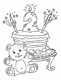 cake coloring page amazing and birthday cake coloring page